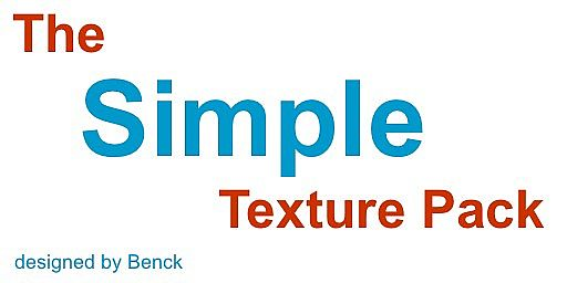 The Simple Texture Pack Logo