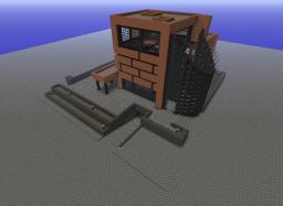 Modern House Series - Quadrantal Lutum Villa Minecraft Map & Project