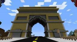 Arc De Triomphe Minecraft Map & Project