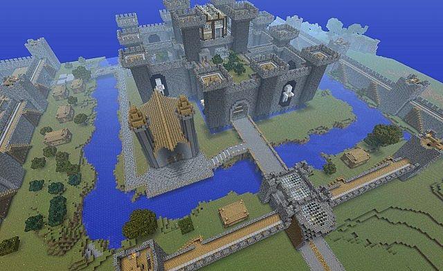 Скачать карту Замок для Майнкрафт 1.13 Карта