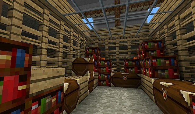 some kind of cargo storage-room-whatever