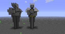 King Statue Minecraft Map & Project