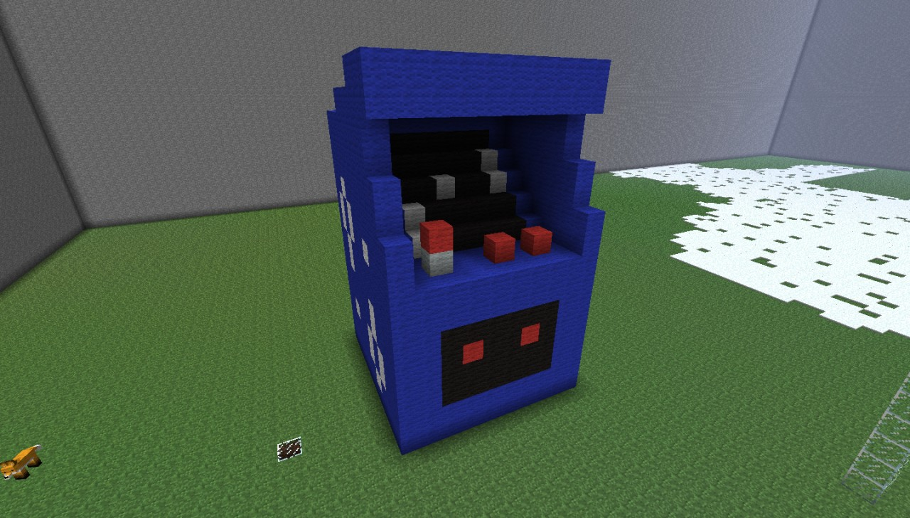 Arcade Machine House Minecraft Project