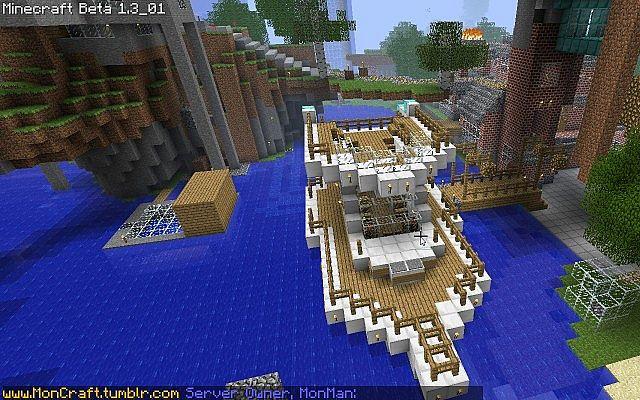Minecraft Boat