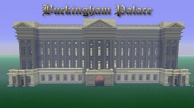 Buckingham Palace Minecraft Project