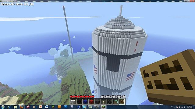 Finally! 438,000 blocks and 7.41 hours later, the Saturn V is COMPLETE!