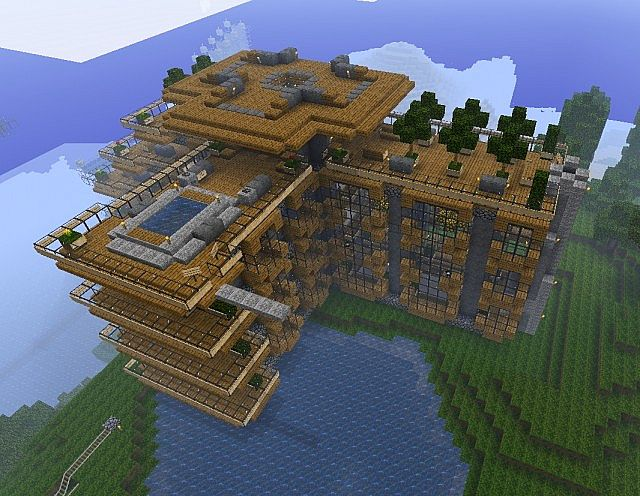 Hillside Manor World 1 8 4 Year Anniversary Minecraft Project