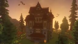 Minecraft Haunted House/Mansion   Minecraft Timelapse Minecraft Map & Project