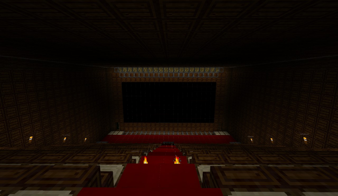 Movie Theater Original Minecraft Project