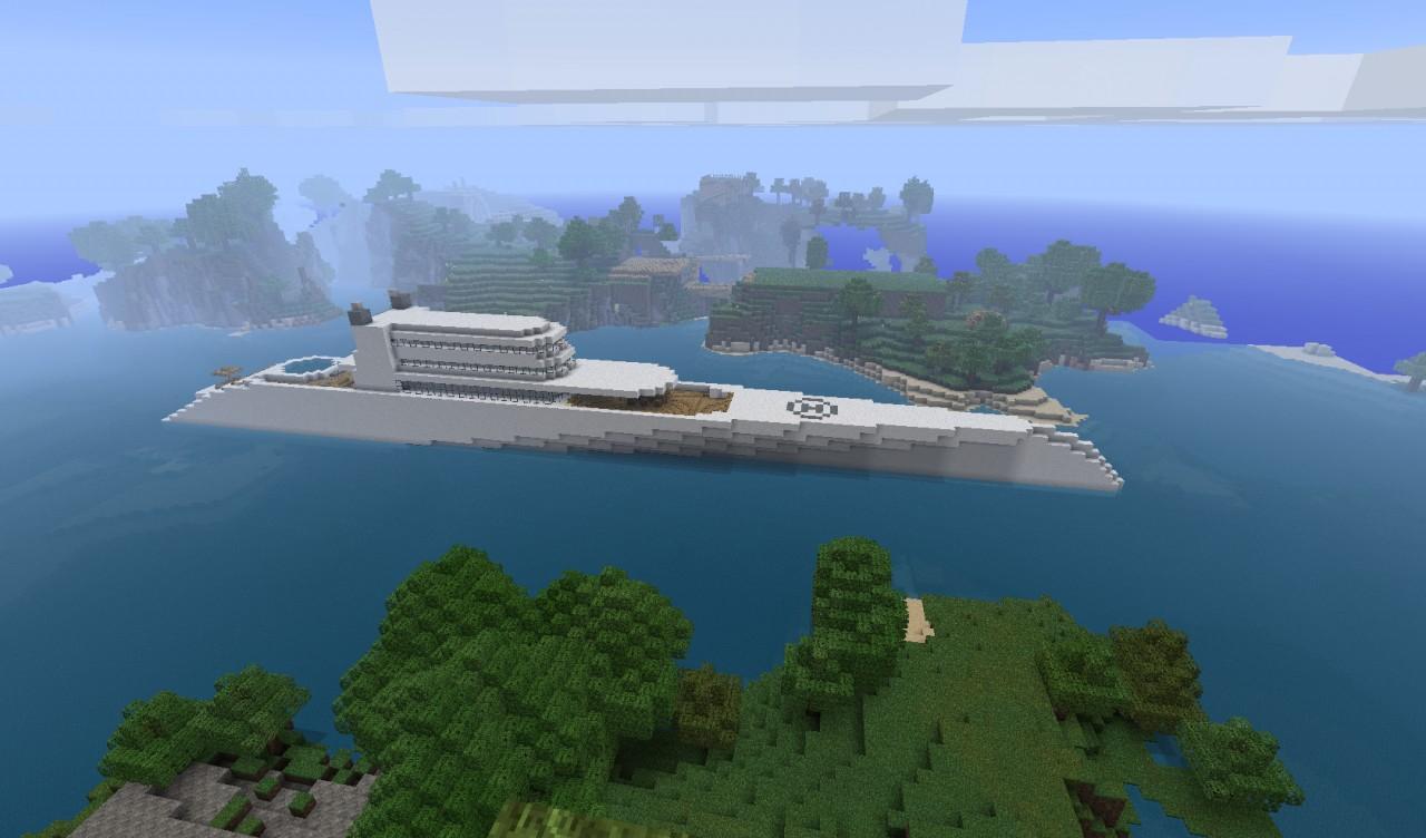 Modern Luxury Yacht Mi...