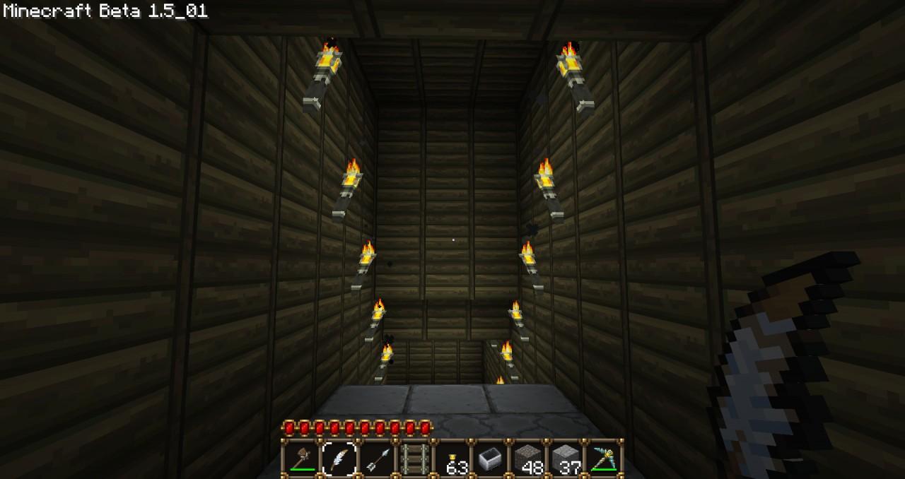 how to make an underground room in minecraft