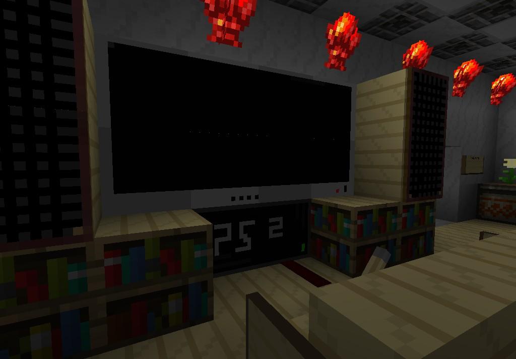 Мод для minecraft телевизор