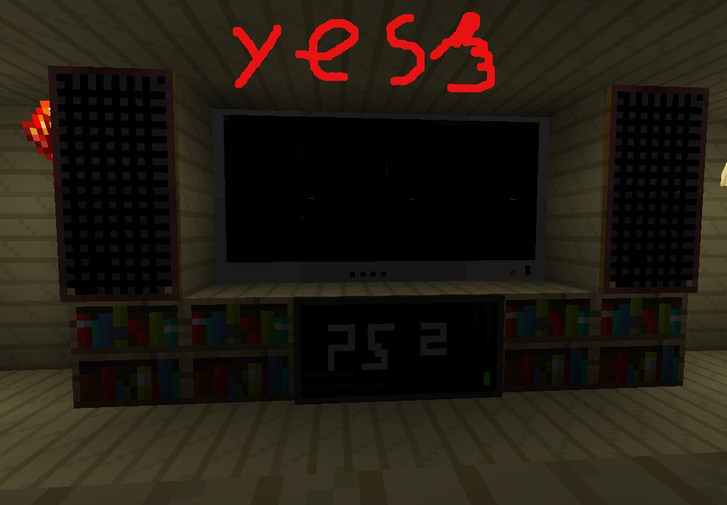 how to make a tv in minecraft. The Best Art Computer+ps2+TV ! How To Make A Tv In Minecraft V