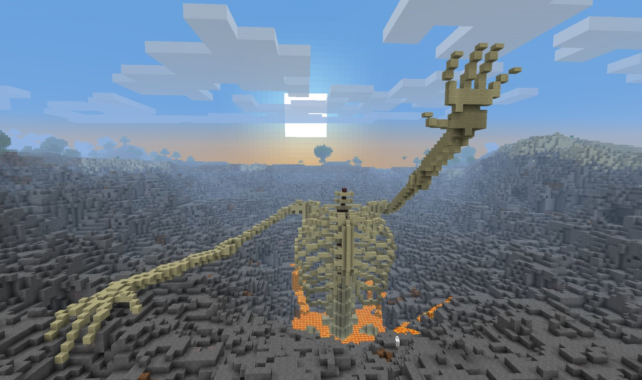 Build Lave Minecraft