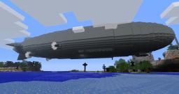 Hindenburg with interior Minecraft Map & Project