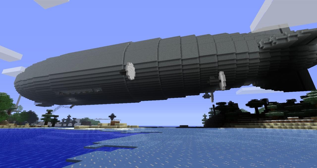 Hindenburg With Interior Minecraft Project
