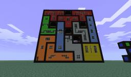 Big tetris building Minecraft Project