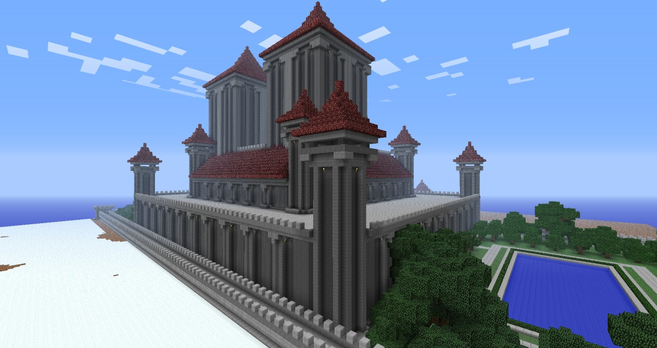 Royal Palace Minecraft Project