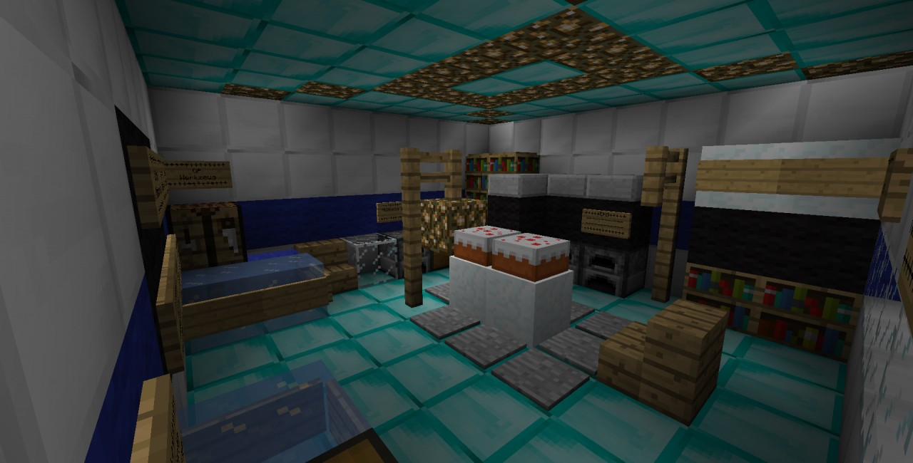 Hospital World Save Schematic Minecraft Project