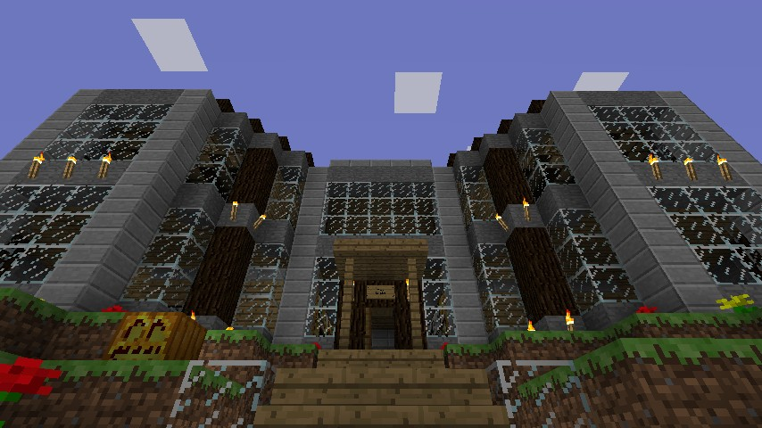 how to build a nice mansion in minecraft 1.10.2