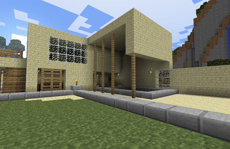 Modern Mexican Style House Minecraft Project