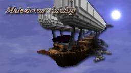 Maledictus Airship Minecraft Project