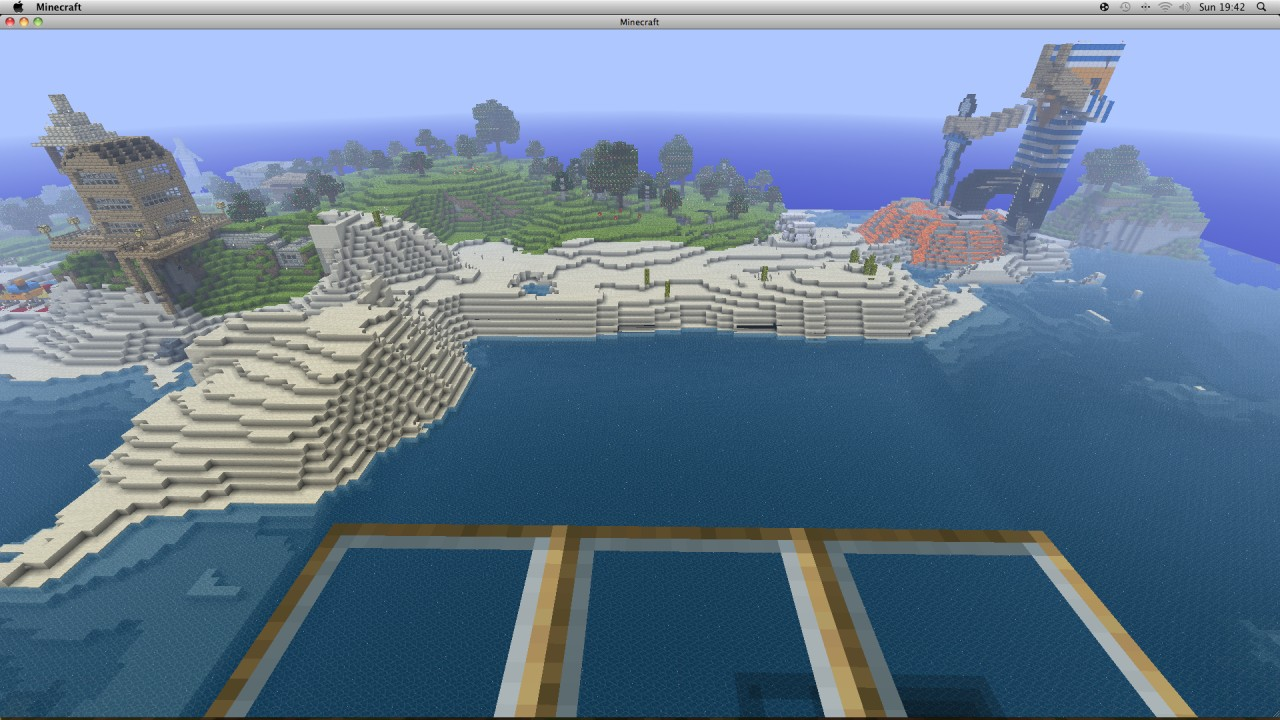 made the cove itself