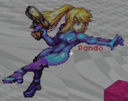 Zero Suit Samus Minecraft Project