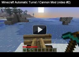 [1.2.5] Turret Minecraft Mod