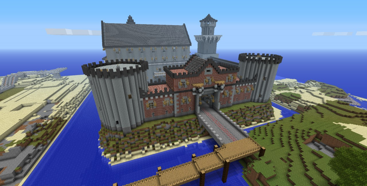 Awesome Castle World SaveSchematic Minecraft Project