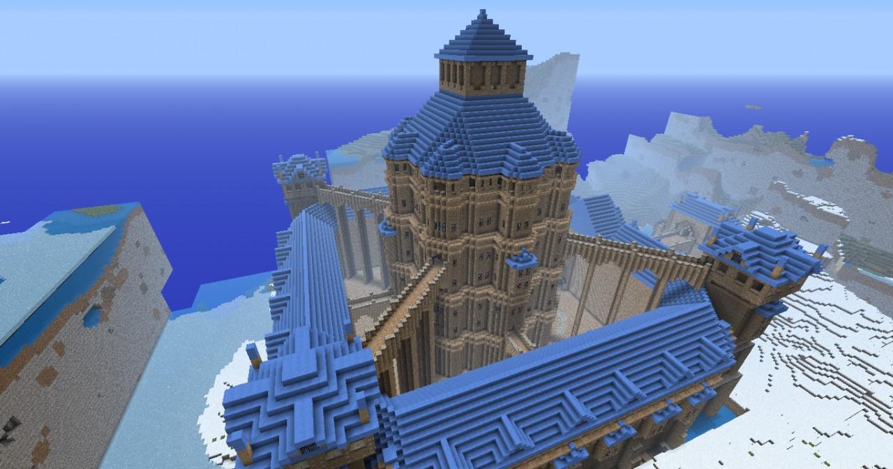 Images of Minecraft Sand Castle - #rock-cafe
