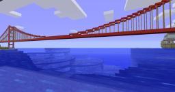 Golden Gate Bridge Minecraft Map & Project