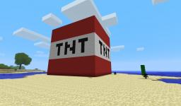 Big TNT (warning  can explode) try it and die =) Minecraft Project