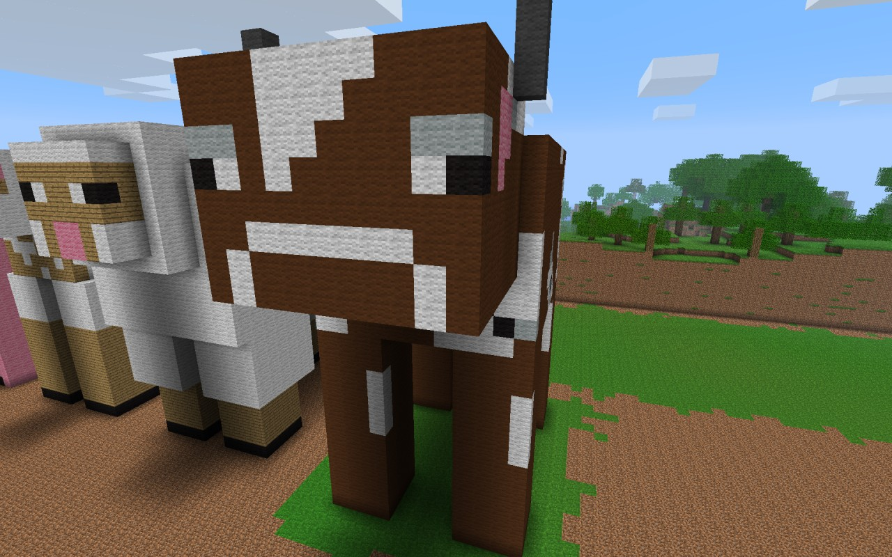 How to make a cow in Minecraft 92