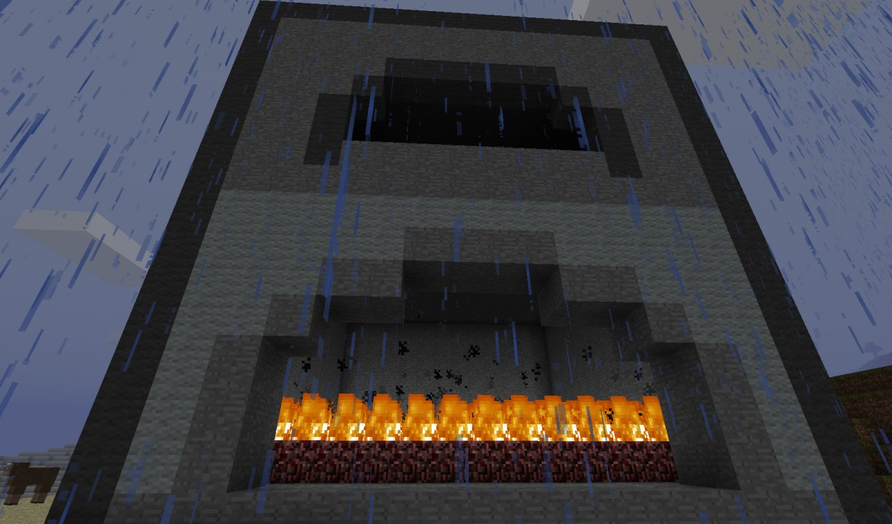 Burning furnace minecraft project for How to craft a furnace in minecraft