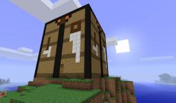 workbench house to my big TNT house Minecraft Project