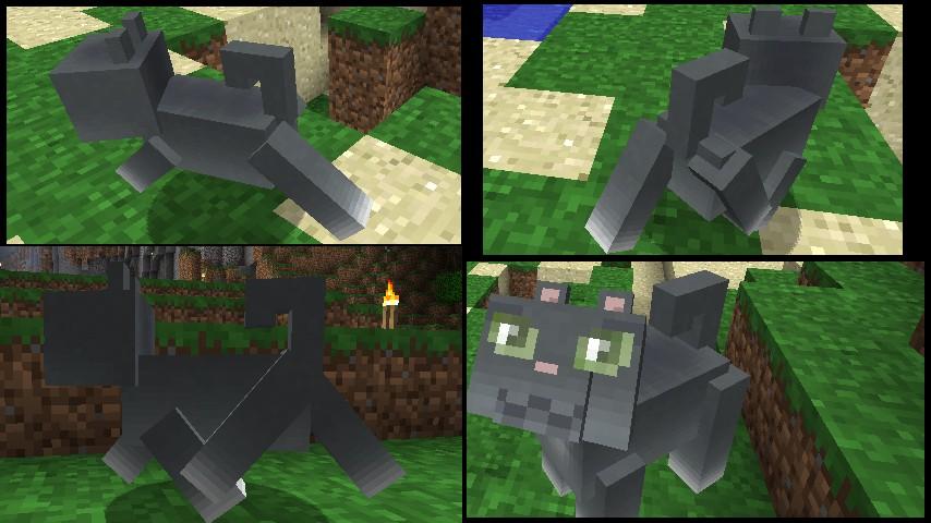 Minecraft Cat Mod