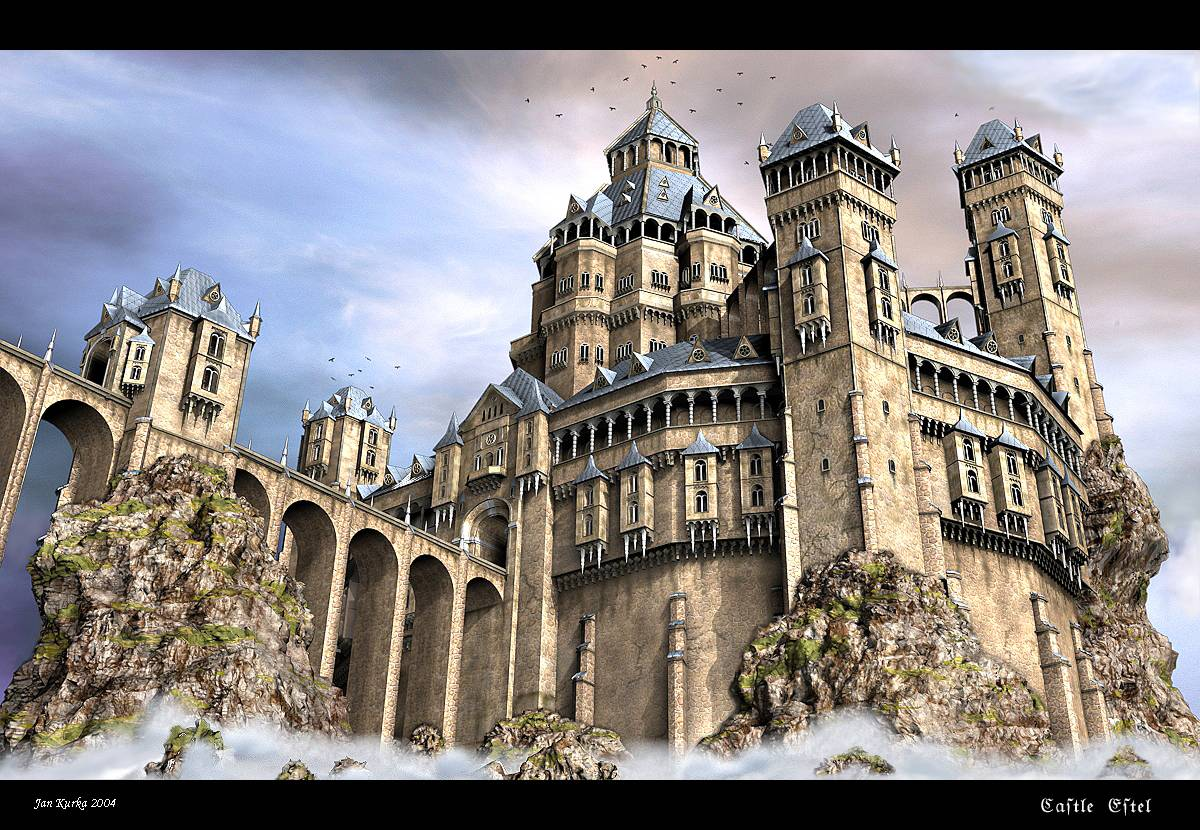 Castle estel minecraft project for Final fortress blueprints