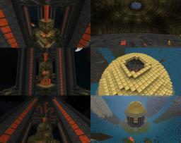 Golden Shrine Minecraft Map & Project
