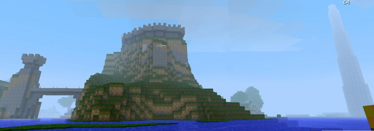 Early Panorama of Baymouth Keep, from Acidcraft 2