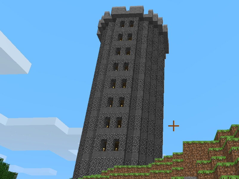Weathertop - the final SSP evolution of my tower style before I went SMP