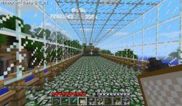 Over water bridge with underwater tunnel !!! Minecraft