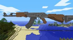 AK-47 Minecraft Map & Project