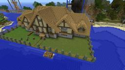 my house credit to rushen i believe for the idea of the outside Minecraft