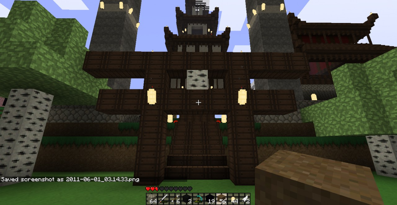I love everything japanese minecraft project - Minecraft japanese gate ...