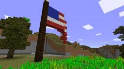 US Flag Minecraft Map & Project