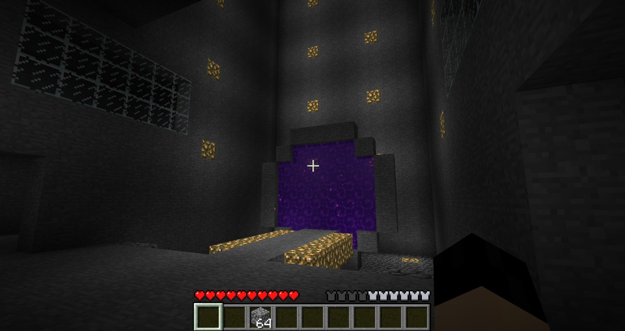 finished stargate with nether access