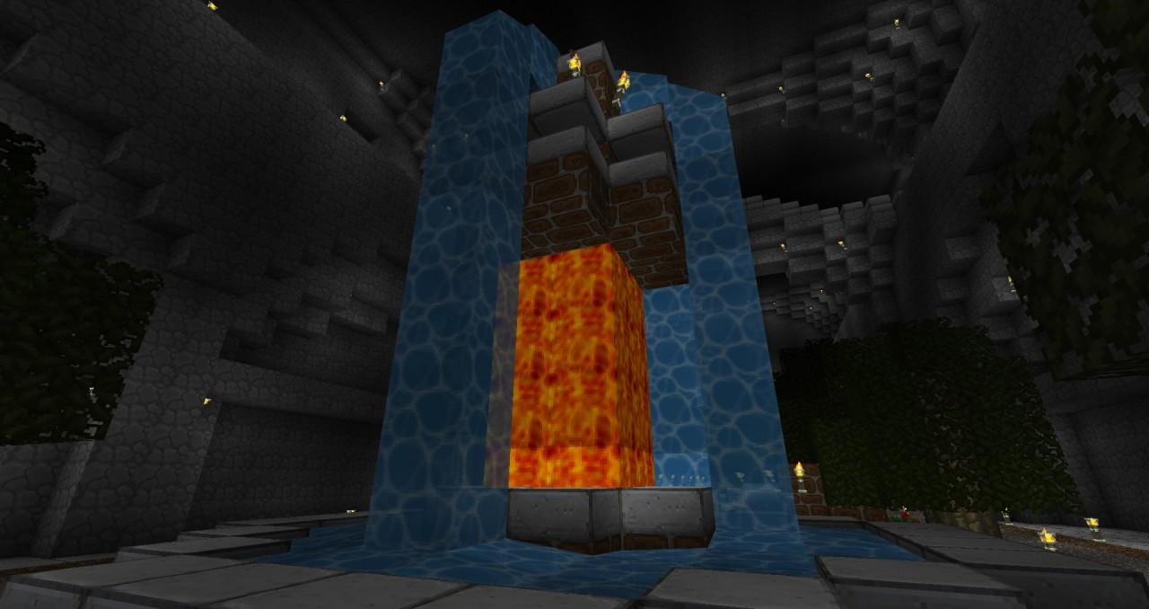 Second fountain design