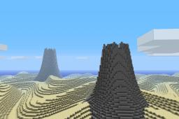 256x256 Primordial Desert Minecraft Map & Project