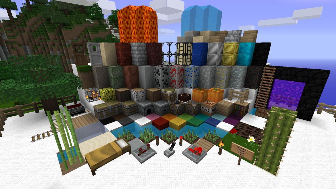 XSSheep's Vivid 1.5 Minecraft Texture Pack